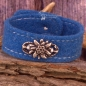 Preview: XL Trachten Armband blau