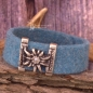 Preview: Trachten Armband hellblau