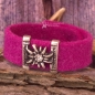Mobile Preview: Trachten Armband pink