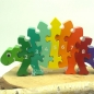 Preview: Dinosaurier Stegosaurier als Holz Puzzle