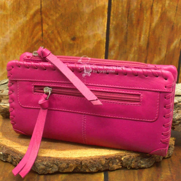 Geldbeutel gross pink